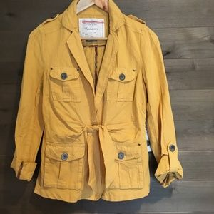 CARTONNIER Anthro Field Utility Safari Jacket NWT!